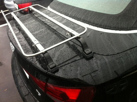 Audi A3 Cabriolet Convertible Luggage Boot Rack Stainless Steel