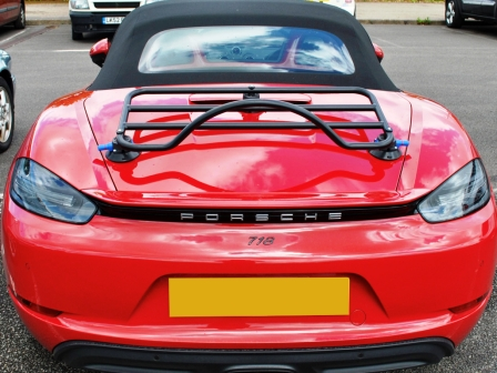 porsche boxster 718 boot trunk rack