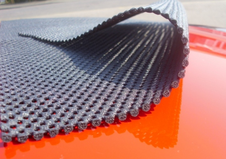 soft matting for the porsche boxster luggage rack