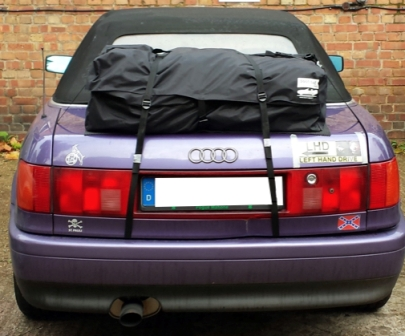 Audi A4 cabriolet luggage boot rack - on audi 80 cabriolet