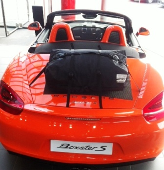 Porsche Boxster 981 Boot Trunk Luggage Rack