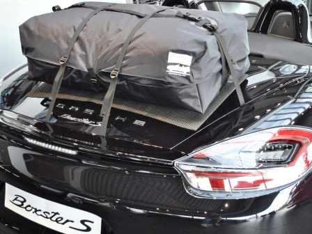 porsche boxster luggage rack 981