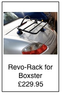 revo rack luggage rack for porsche boxster