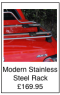 stainless steel car luggage rack