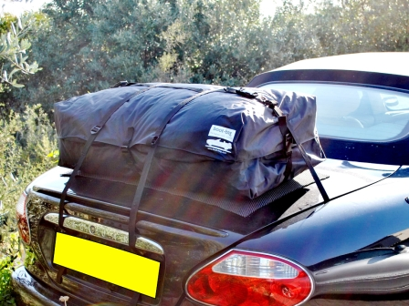 Jaguar XK Luggage and boot racks