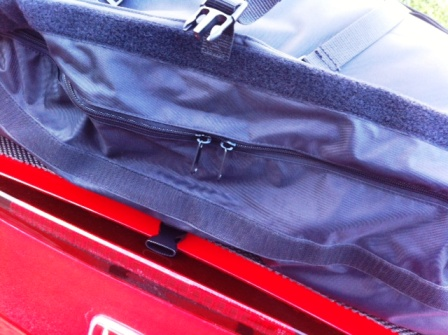 zip details for porsche boxster luggage rack