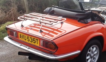 Triumph Herald Boot Rack Triumph Spitfire Luggage And Boot